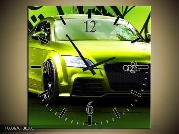 Obraz zelené Audi  (F003676F3030C)