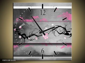 Obraz s hodinami F005538F3030C (F005538F3030C)