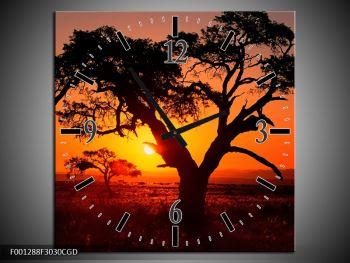 Obraz ohnivého západu slunce (F001288F3030CGD)