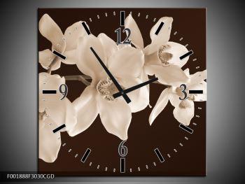Krásný obraz bílých květin (F001888F3030CGD)
