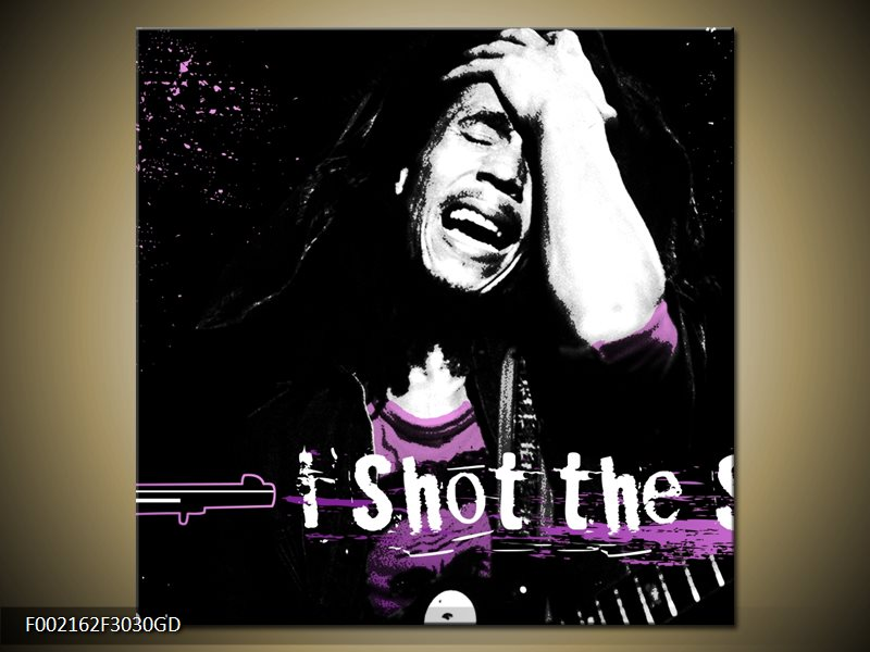 Obraz Bob Marley (F002162F3030GD)