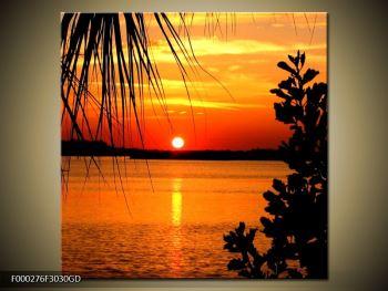 Obraz západu slunce (F000276F3030GD)