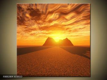 Obraz slunečního svitu (F000289F3030GD)