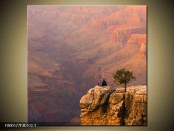 Obraz kaňonu (F000577F3030GD)