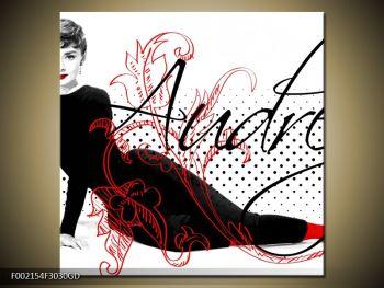 Obraz - Audrey Hepburn (F002154F3030GD)