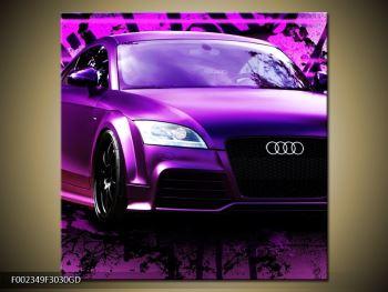 Obraz fialové Audi (F002349F3030GD)