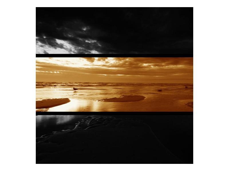 Dvroubarevný obraz moře (F001957F4040)