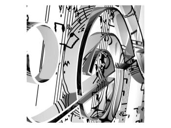 Moderní obraz houslového klíče (F000206F4040)