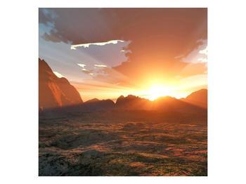 Obraz západu slunce (F000462F4040)
