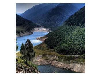 Obraz řeky a hor (F000615F4040)