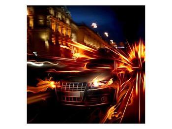 Obraz jedoucího auta (F000797F4040)