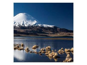 Obraz zasněžené hory (F000974F4040)