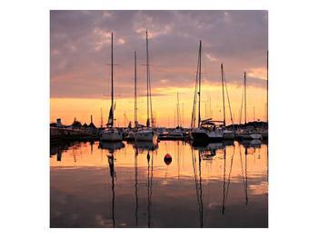 Obraz přístavu (F001605F4040)