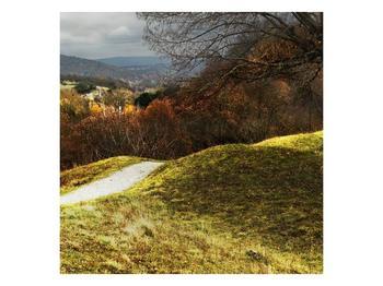 Obraz podzimního pahorku (F001650F4040)