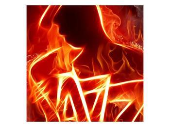 Obraz ohnivé postavy (F001691F4040)
