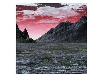 Obraz skalnaté přírody (F001712F4040)