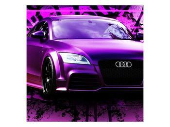 Obraz fialové Audi (F002349F4040)