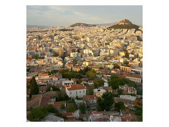 Obraz rozsáhlého města  (F002955F4040)