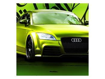 Obraz zelené Audi  (F003676F4040)