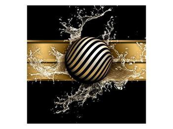 Obraz pruhované koule a vody (F004116F4040)