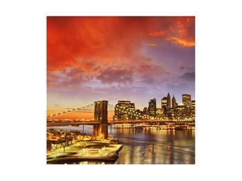 Tablou cu podul Brooklyn (K011278K4040)