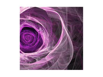 Moderný obraz fialovej ruže (K011482K4040)