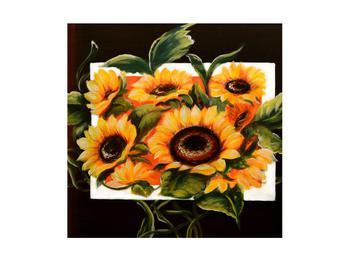 Tablou cu floarea soarelui (K011496K4040)