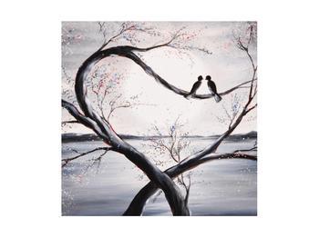 Tablou cu păsări îndrăgostite (K012516K4040)