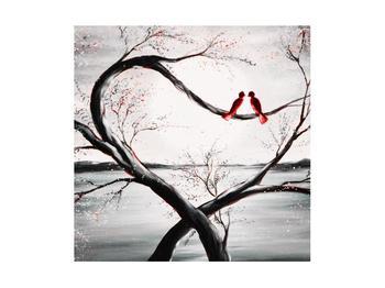Zamilovaný obraz ptáků (K012527K4040)
