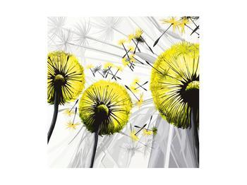 Tablou galben cu păpădii (K014028K4040)