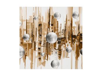 Abstraktní obraz - město (K014743K4040)