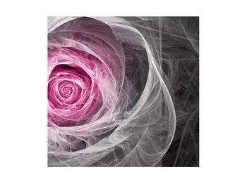 Abstraktní obraz růže (K014952K4040)