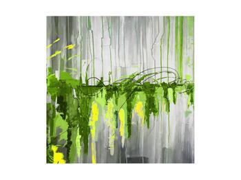 Abstraktní obraz - malba (K014961K4040)