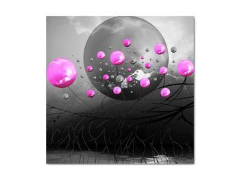 Obraz ružových gulí (V020105V4040)