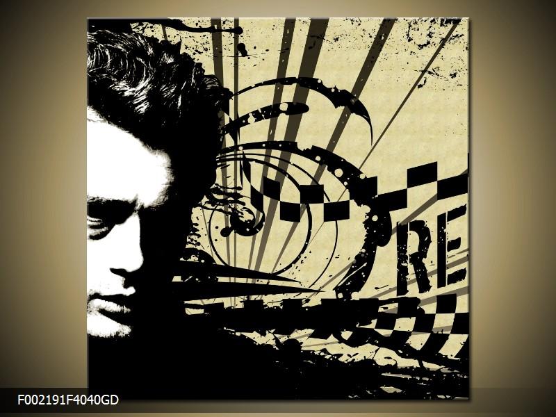 Obraz - James Dean (F002191F4040GD)