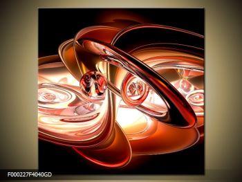 Moderní abstraktní obraz (F000227F4040GD)