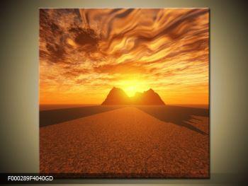 Obraz slunečního svitu (F000289F4040GD)