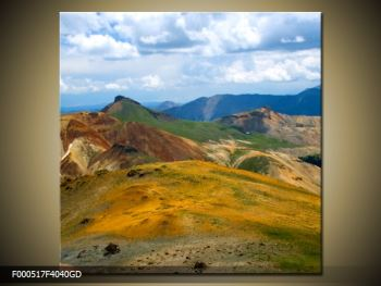 Obraz pohoří (F000517F4040GD)