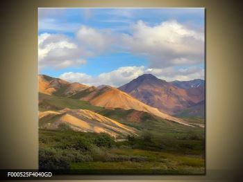 Obraz pohoří (F000525F4040GD)