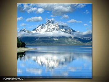 Obraz hory (F000543F4040GD)