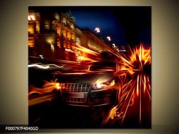 Obraz jedoucího auta (F000797F4040GD)