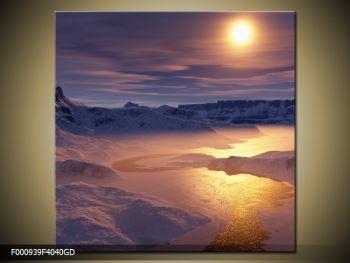 Krásný obraz zimní krajiny (F000939F4040GD)