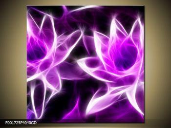 Moderní obraz květin (F001725F4040GD)