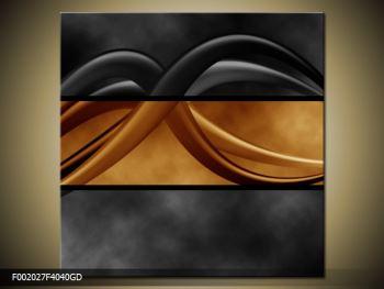 Dvoubarevný obraz chapadel (F002027F4040GD)