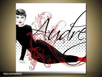 Obraz - Audrey Hepburn (F002154F4040GD)
