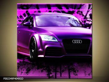 Obraz fialové Audi (F002349F4040GD)