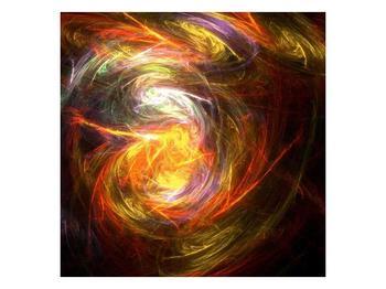 Abstraktní barevný obraz (F000077F5050)