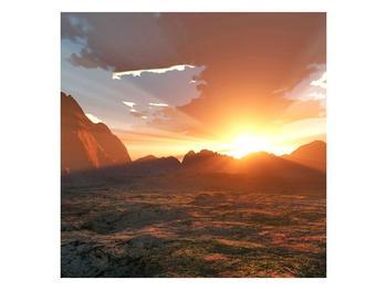 Obraz západu slunce (F000462F5050)