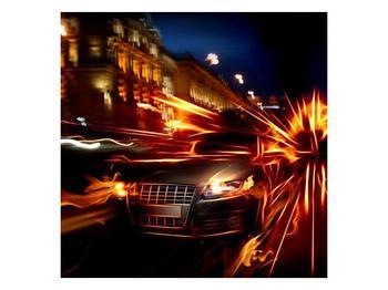 Obraz jedoucího auta (F000797F5050)