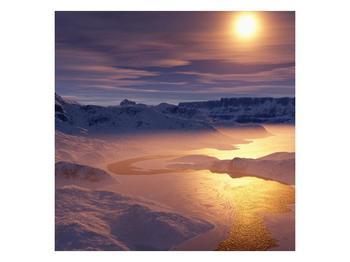 Krásný obraz zimní krajiny (F000939F5050)